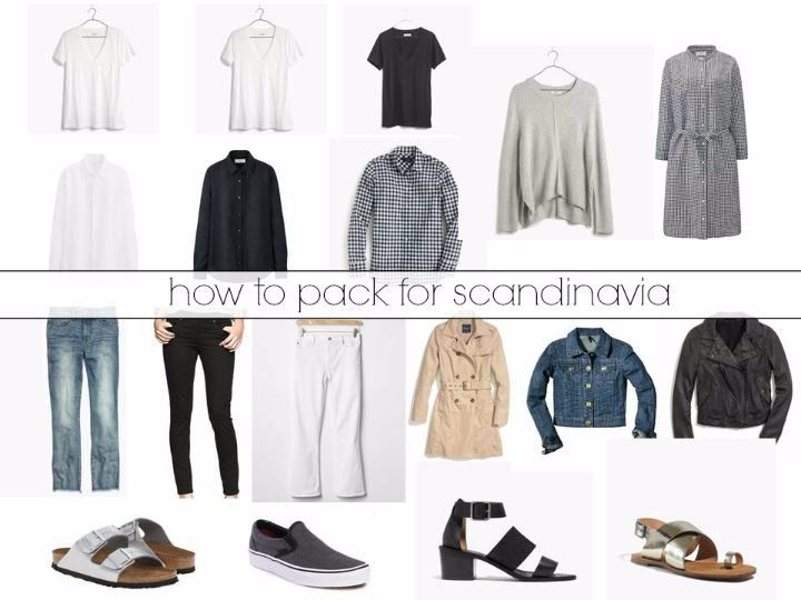 how to pack for scandinavia