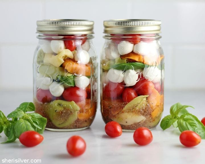 mason jar meals and snacks #shop