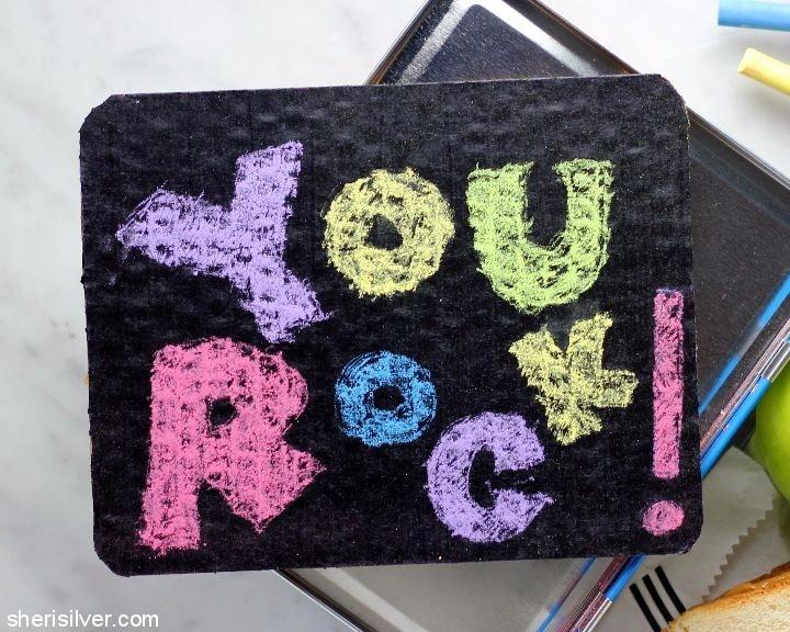 lunchbox chalkboard #shop