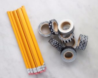 washi tape pencils #shop