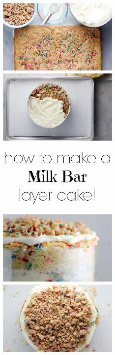 how to make a milk bar layer cake
