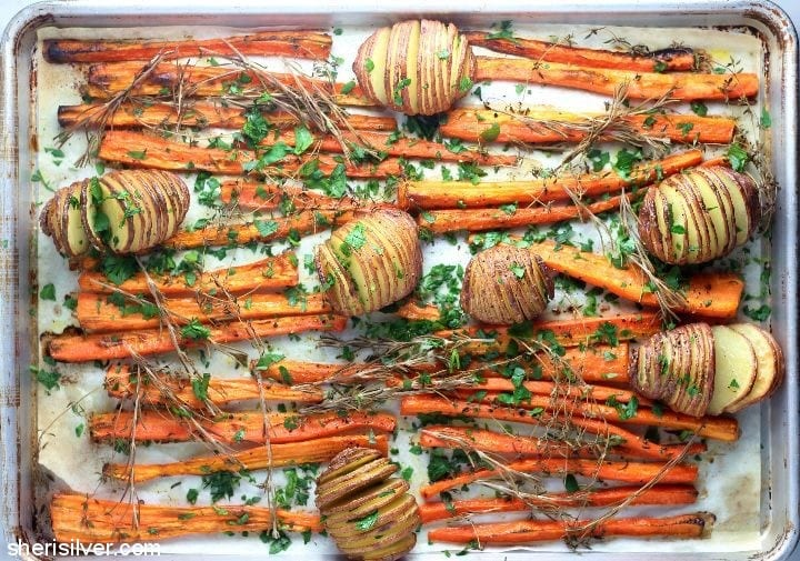 brisket-roasted-carrots-hasselback-new-potatoes