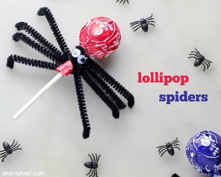 lollipop-spiders