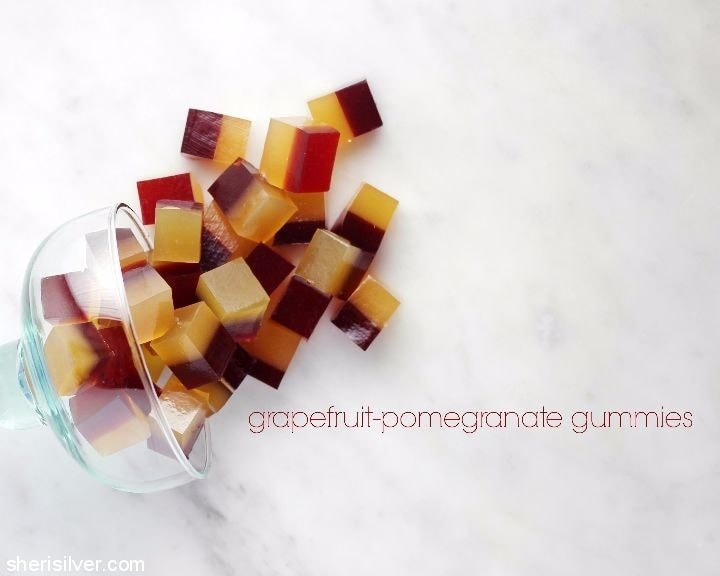 grapefruit pomegranate gummies