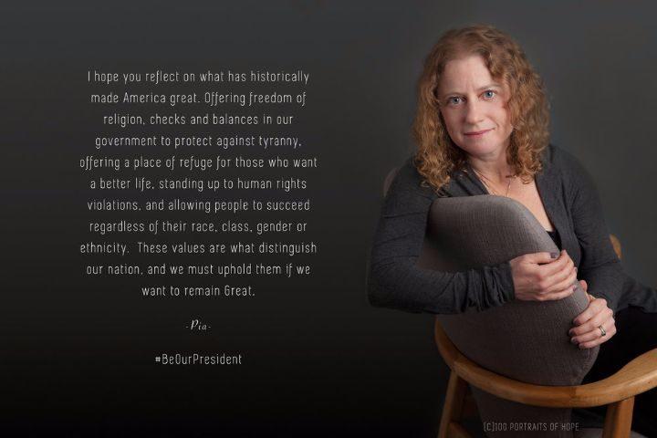 100 portraits of hope