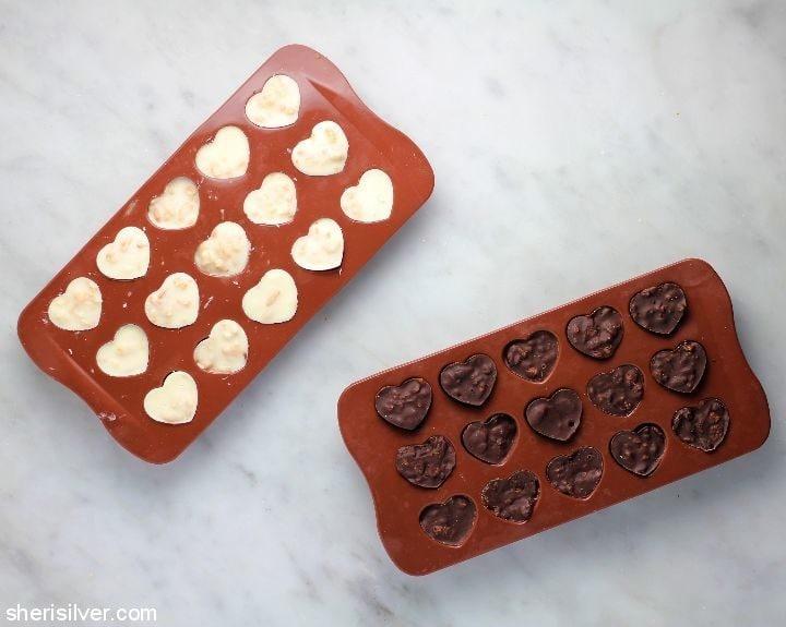 2 ingredient nestle crunch hearts
