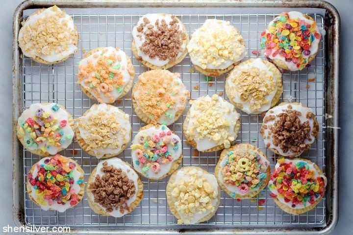 cereal milk hand pies for pi day! | Sheri Silver - living a well