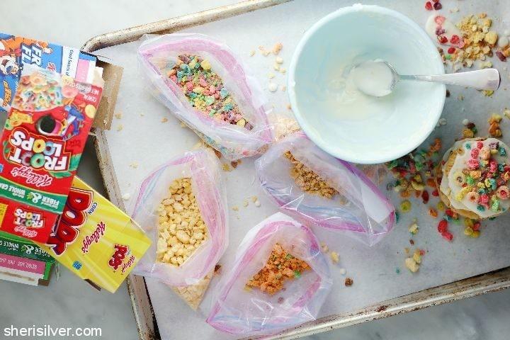 cereal milk hand pies