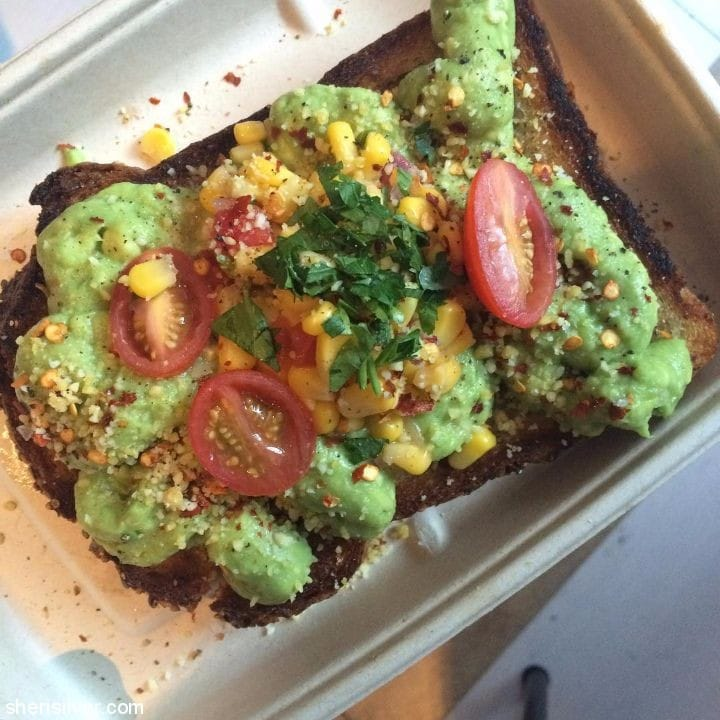by chloe avocado toast