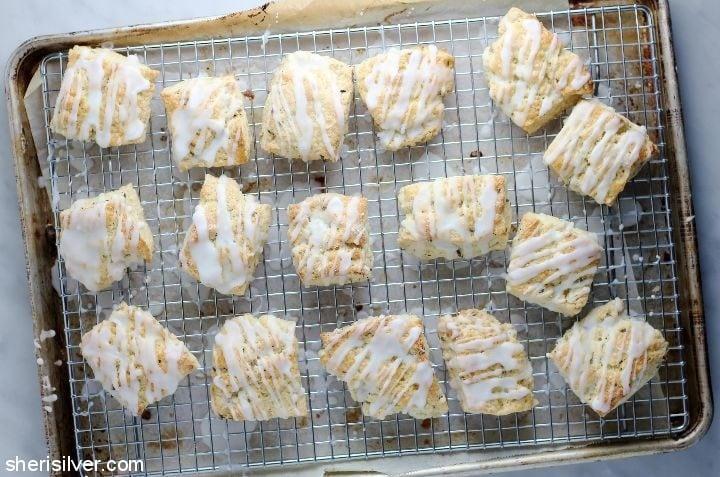 lavender lemon scones