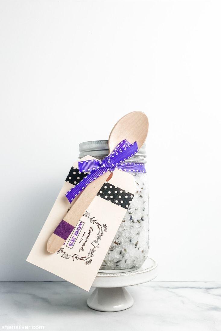 Lavender Salt Scrub l sherisilver.com