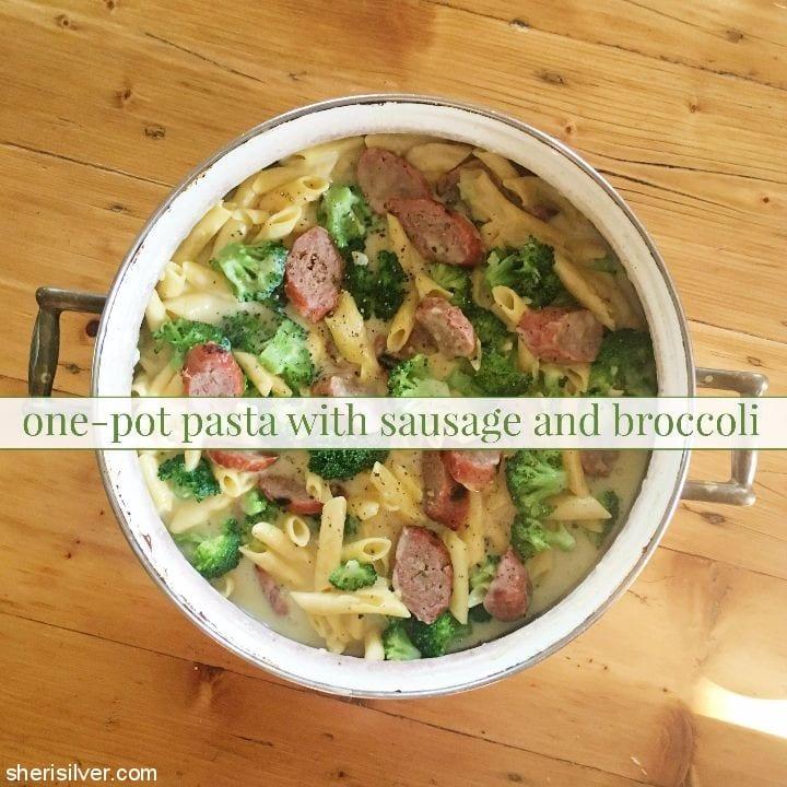 one pot pasta sausage broccoli