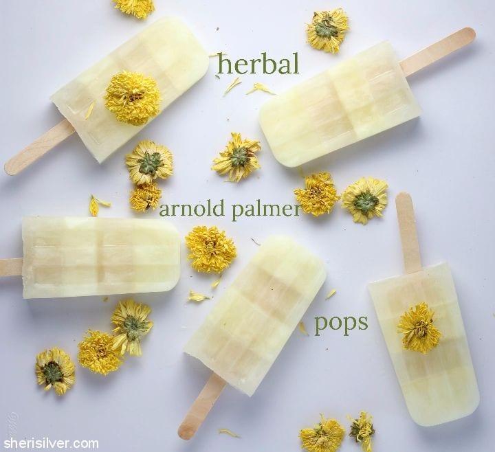 Herbal Arnold Palmer Pops l sherisilver.com
