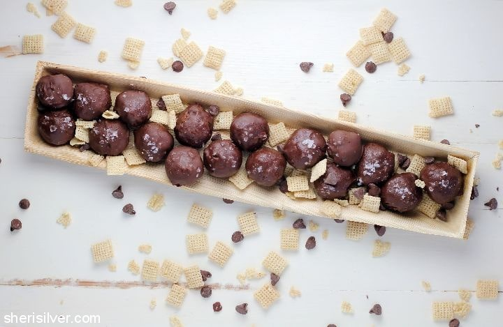 Peanut Butter Chex Bites l sherisilver.com