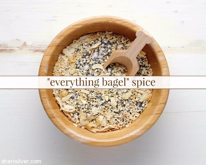 Everything Bagel Spice l sherisilver.com