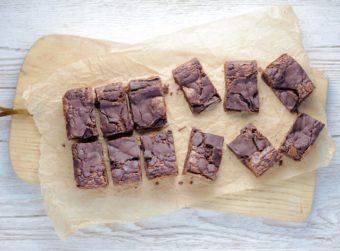 Vegan Small Batch Brownies l sherisilver.com
