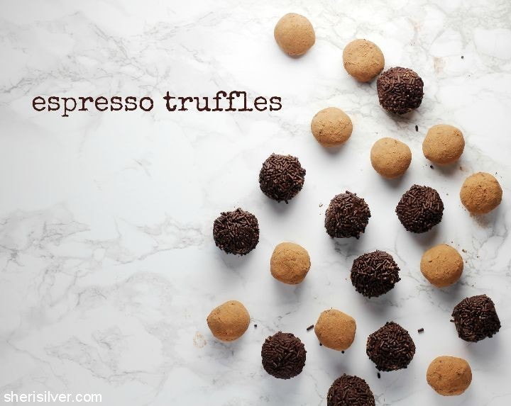Espresso Truffles l sherisilver.com