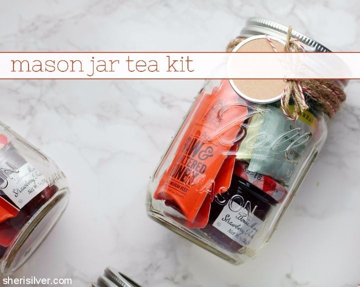 Mason Jar Tea Kit l sherisilver.com