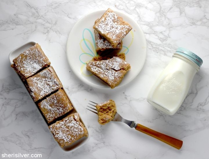 Vegan Peanut Butter Cake l sherisilver.com