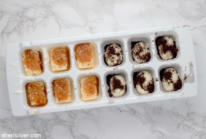 Ice Cube Tray Chocolates l sherisilver.com