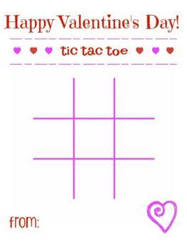 Tic Tac Toe Valentines l sherisilver.com