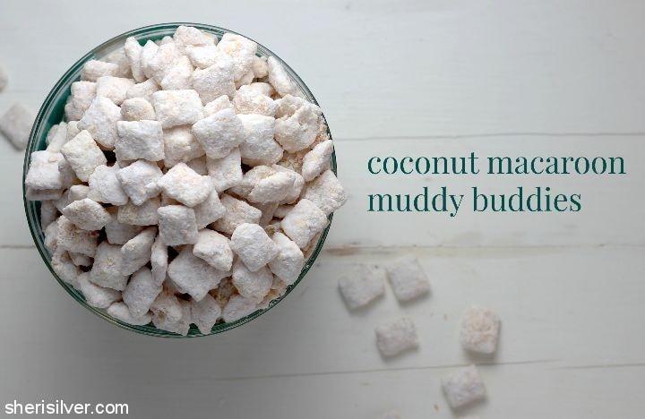 Coconut Macaroon Muddy Buddies
