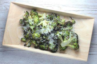 Lemon Parmesan Broccoli l sherisilver.com