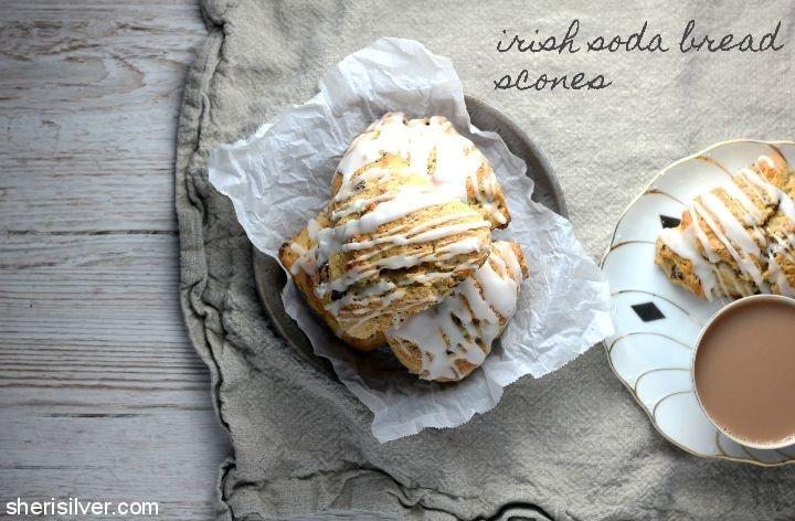 Irish Soda Bread Scones l sherisilver.com