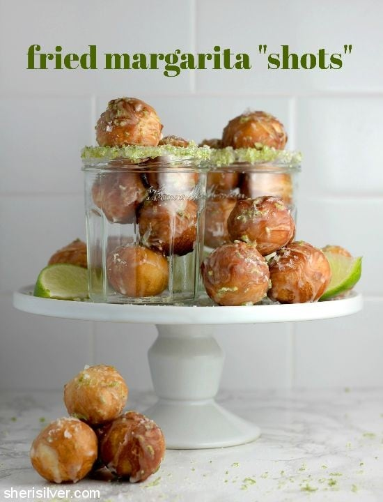 Fried Margarita Shots l sherisilver.com