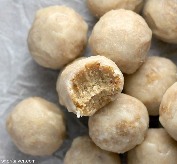 Raw Vegan Donut Holes l sherisilver.com