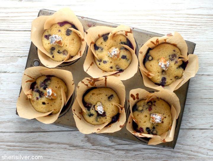 Donuts in a Muffin Tin l sherisilver.com
