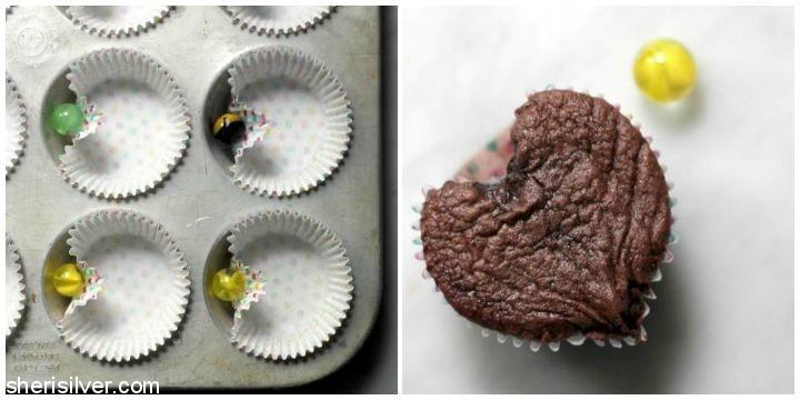 Heart Shaped Cupcakes l sherisilver.com