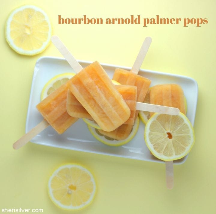 Bourbon Arnold Palmer Pops l sherisilver.com