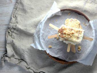 Crumb Cake Popsicles l sherisilver.com