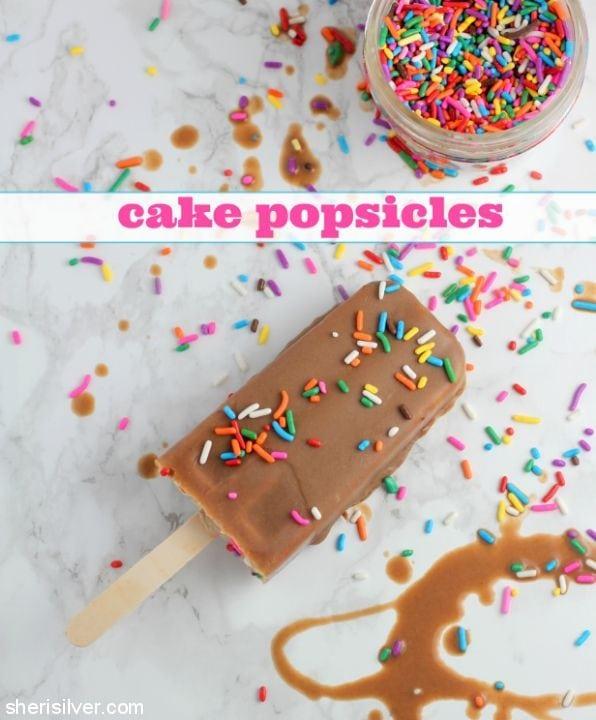 Cake Popsicles l sherisilver.com