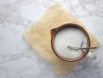 Homemade Vanilla Sugar l sherisilver.com