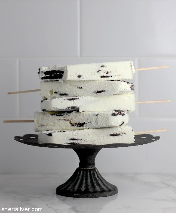 Icebox Cake Popsicles l sherisilver.com