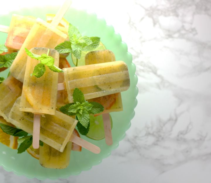 Livestrong Citrus Mojito Pops