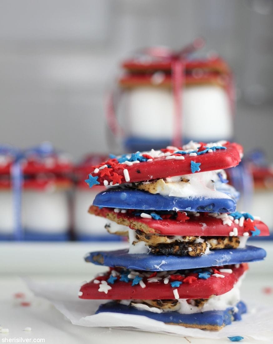 4th of July S'mores l sherisilver.com