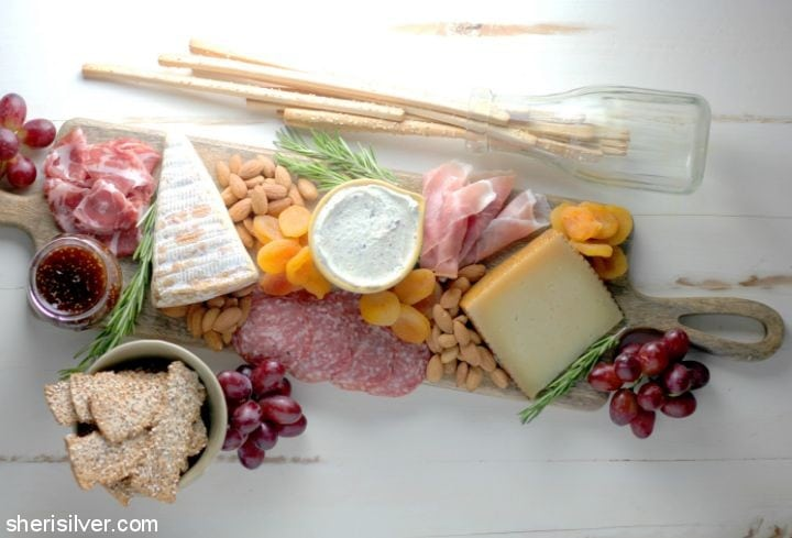A Perfect Cheese Board l sherisilver.com