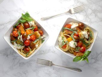 Caprese Pasta l sherisilver.com #ad