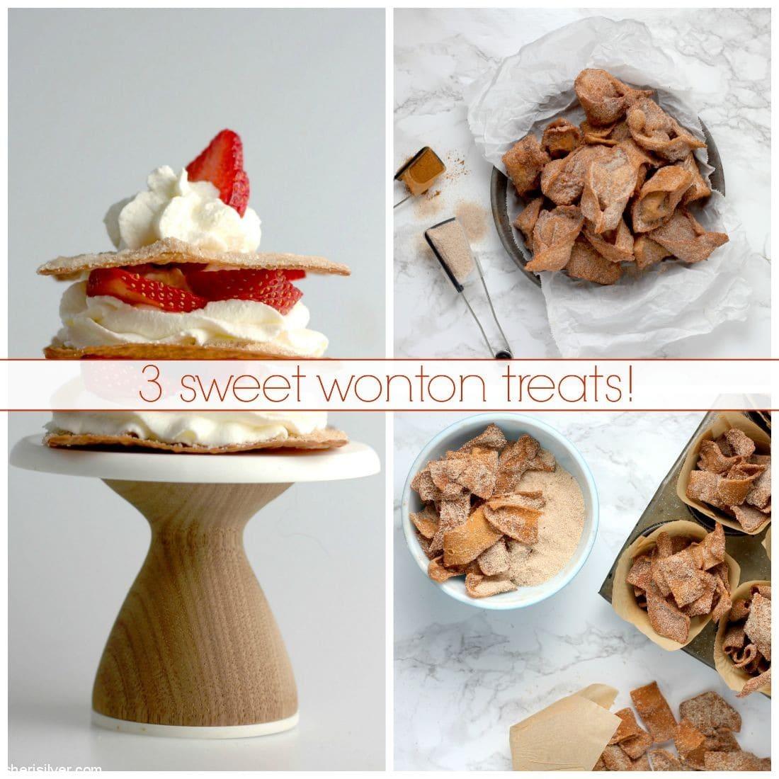 Sweet Wonton Treats l sherisilver.com