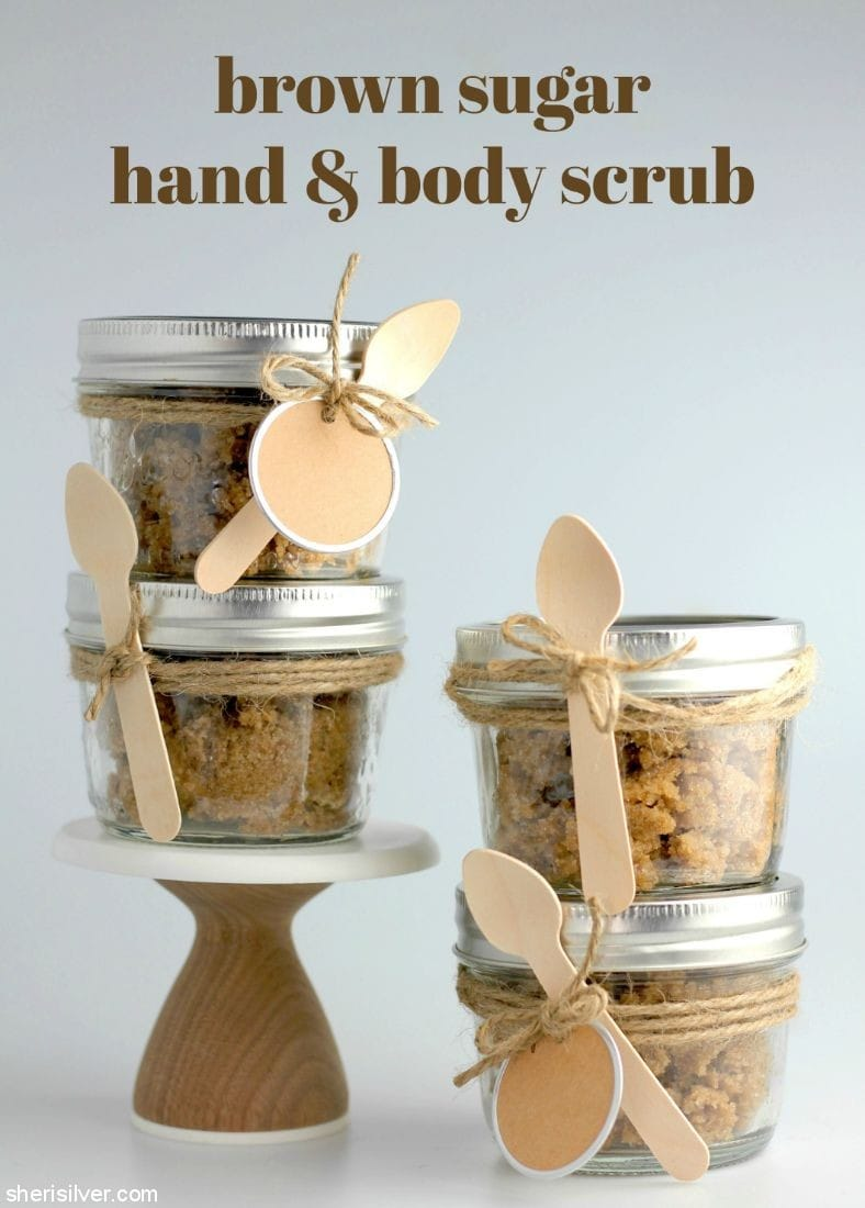 Brown Sugar Hand Body Scrub l sherisilver.com