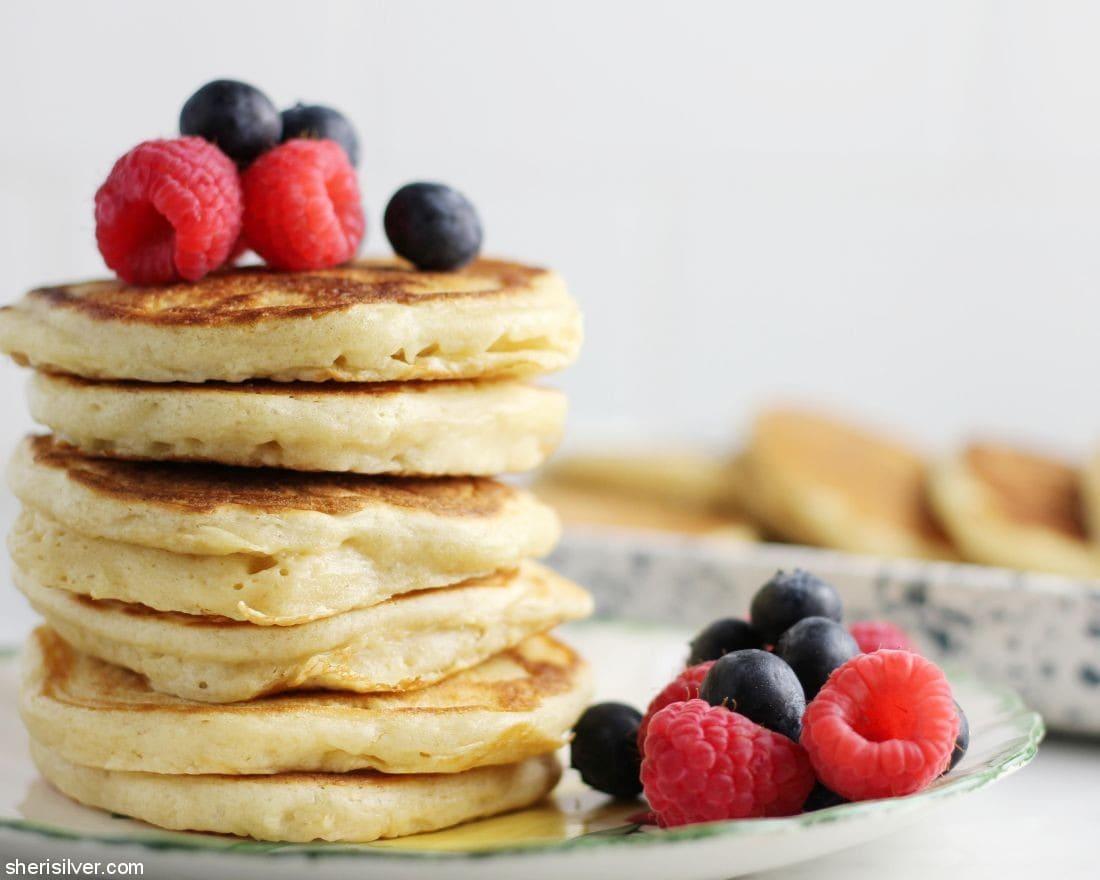 Homemade Pancake Mix l sherisilver.com