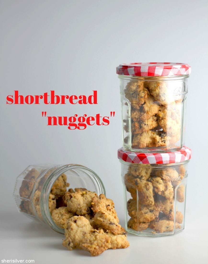 Shortbread Nuggets l sherisilver.com