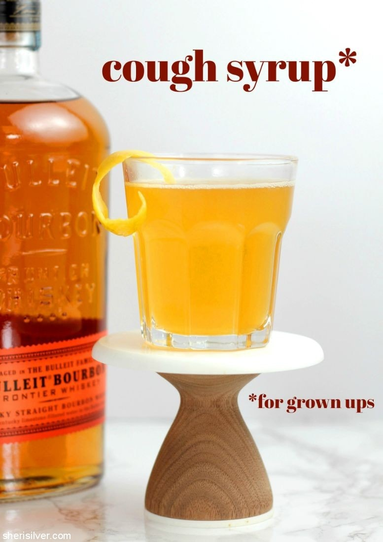 Grown Up Cough Syrup l sherisilver.com