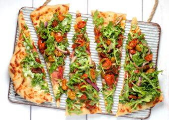 Salad Pizza l sherisilver.com