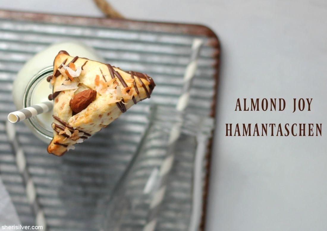 Almond Joy Hamantaschen l sherisilver.com