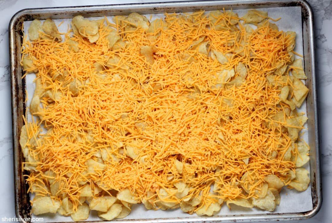 Potato Chip Steak Nachos l sherisilver.com