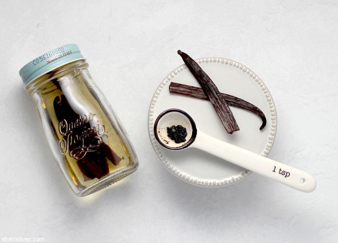 How to Store Fresh Vanilla Beans l sherisilver.com